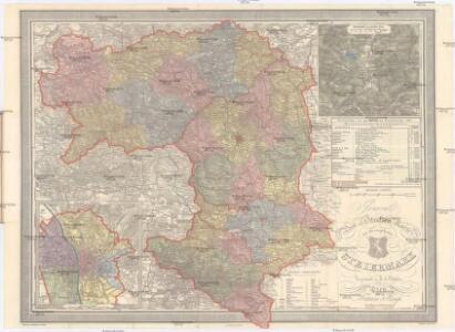 General Post und Strassen Karte des Herzogthums Steiermark