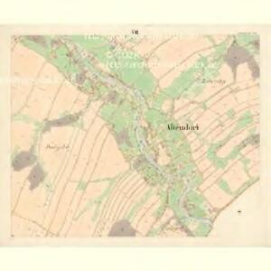 Altendorf (Stara Wes) - m2846-1-007 - Kaiserpflichtexemplar der Landkarten des stabilen Katasters