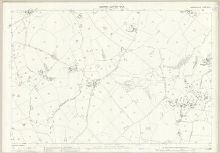 Staffordshire XLIV.2 (includes: Bradley; Castle Church; Coppenhall; Stafford) - 25 Inch Map