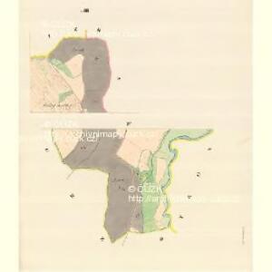 Wschechowitz - m3501-1-004 - Kaiserpflichtexemplar der Landkarten des stabilen Katasters