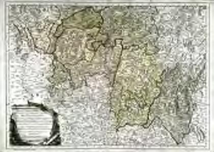 Partie méridionale du duché et gouvernement général de Bourgogne