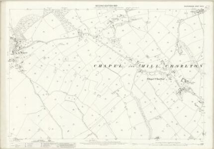 Staffordshire XXIII.6 (includes: Chapel And Hill Chorlton; Maer; Standon; Swynnerton) - 25 Inch Map