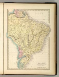 Brazil, Uruguay, Paraguay & Guayana.
