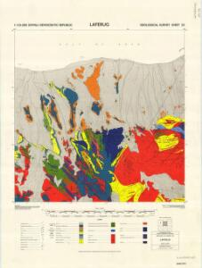 1 : 125,000 Somaliland Protectorate. Geological Survey. D.C.S. 1076, Laferug