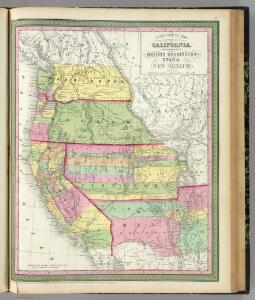 California, Oregon, Washington, Utah, New Mexico.