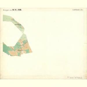 Lichtbuchet Ober - c2161-1-025 - Kaiserpflichtexemplar der Landkarten des stabilen Katasters