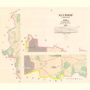 Neudorf (Nowawes) - c5215-1-001 - Kaiserpflichtexemplar der Landkarten des stabilen Katasters