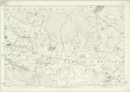 Denbighshire XXIV - OS Six-Inch Map
