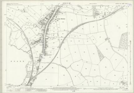 Suffolk LXXII.7 (includes: Acton; Liston; Long Melford) - 25 Inch Map