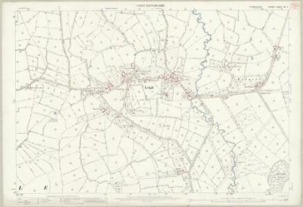 Dorset XXI.4 (includes: Chetnole; Hilfield; Leigh; Lillington; Yetminster) - 25 Inch Map