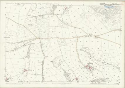 Devon XVI.16 (includes: Dulverton; East Anstey) - 25 Inch Map