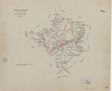 Mapa planimètric de Sant Fruitós de Bages