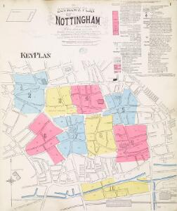 Insurance Plan of Nottingham Vol. I: Key Plan