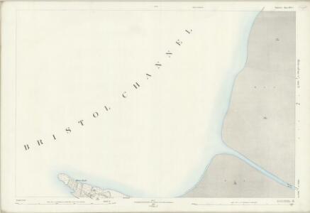 Somerset XVI.2 (includes: Brean; Weston Super Mare) - 25 Inch Map