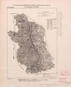 Religion and language maps of Lublin province, Poland no.06