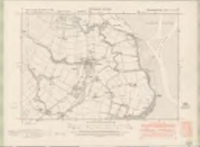 Kirkcudbrightshire Sheet XLV.SW - OS 6 Inch map