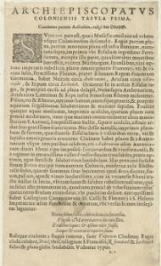 Archiepiscopatus Coloniensis Pars Australis