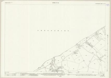 Staffordshire LXVI.10 (includes: Bobbington; Claverley) - 25 Inch Map