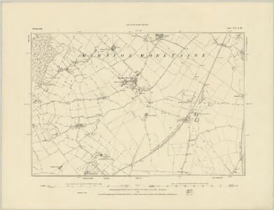 Bedfordshire XXI.SW - OS Six-Inch Map