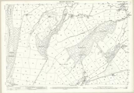 Derbyshire XVII.11 (includes: Barlow; Holmesfield) - 25 Inch Map