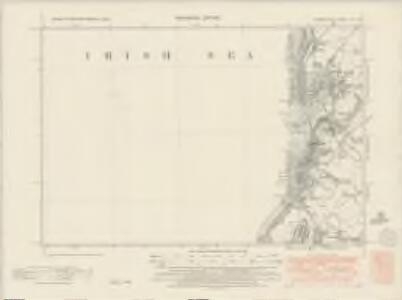 Cumberland LXI.SW - OS Six-Inch Map