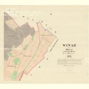 Winar - m3406-1-002 - Kaiserpflichtexemplar der Landkarten des stabilen Katasters