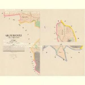 Gr.Nedanitz (Nedanice Welky) - c4993-1-002 - Kaiserpflichtexemplar der Landkarten des stabilen Katasters