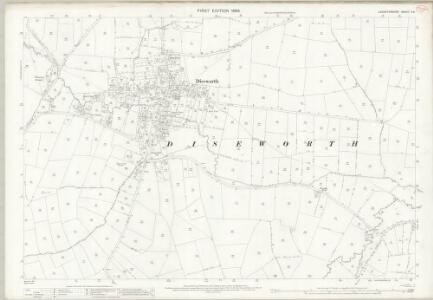 Leicestershire X.9 (includes: Castle Donington; Long Whatton) - 25 Inch Map