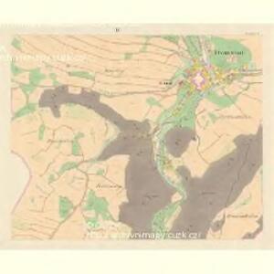 Domstadt (Domassow) - m0557-1-004 - Kaiserpflichtexemplar der Landkarten des stabilen Katasters