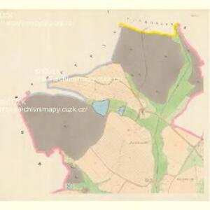 Wlczetin - c8663-1-001 - Kaiserpflichtexemplar der Landkarten des stabilen Katasters