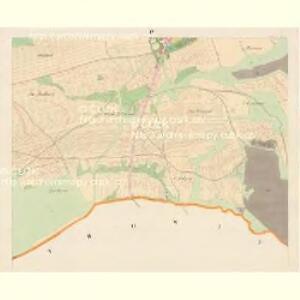 Wölleschin - c8366-1-004 - Kaiserpflichtexemplar der Landkarten des stabilen Katasters