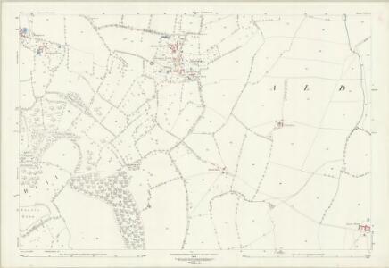 Gloucestershire XIII.13 (includes: Alderton; Oxenton; Teddington) - 25 Inch Map