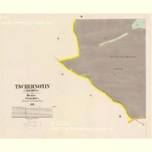 Tschernotin (Czernotin) - c0905-1-004 - Kaiserpflichtexemplar der Landkarten des stabilen Katasters