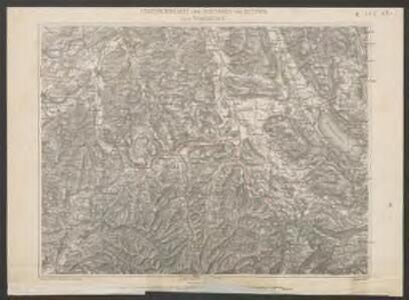 Uebersichtskarte der Eisenbahn von Huttwil nach Wohlhusen