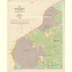 Bärringen - c5700-1-003 - Kaiserpflichtexemplar der Landkarten des stabilen Katasters