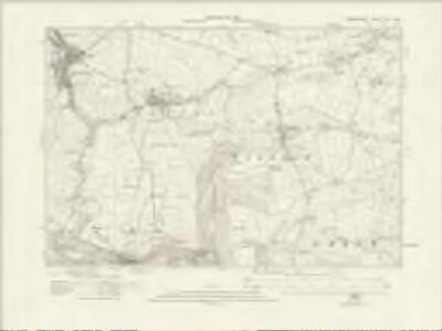 Derbyshire XVI.SW - OS Six-Inch Map