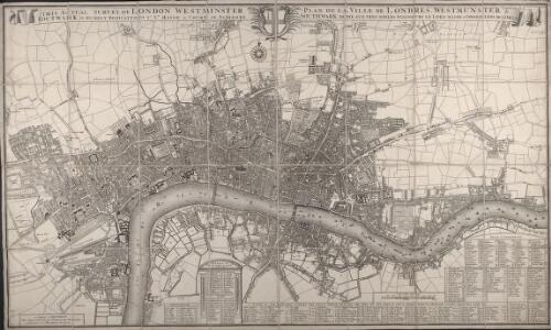 This Actual Survey Of London Westminster Southwark Is Humbly Dedicated To Ye Ld. Mayor & Court of Aldermen