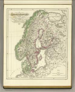 Scandinavien bis zum Frieden von Friedrichshamm 1809.