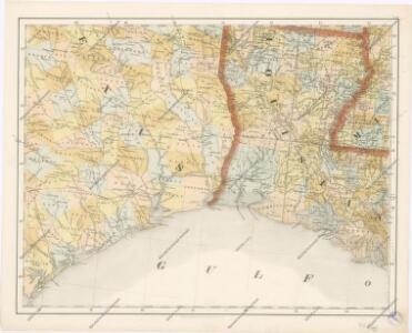 Special -Karte der Vereinigten Staaten von Nord - America No 13.