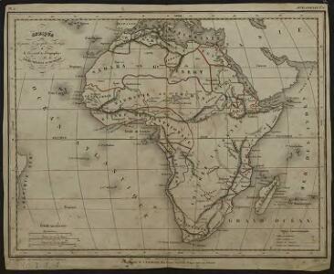 Afrique pour la petite géographie méthodique et le manuel de géographie Achille Meissas et Michelot