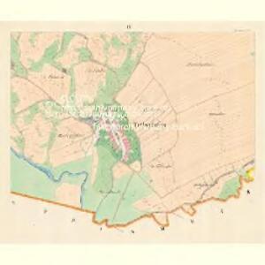 Tritschein (Tressten) - m3161-1-003 - Kaiserpflichtexemplar der Landkarten des stabilen Katasters