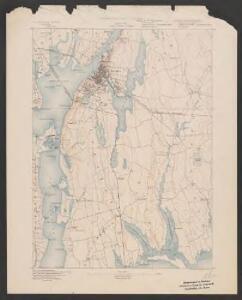 Fall River quadrangle, Massachusetts
