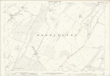 Kent XLIV.6 (includes: Doddington; Newnham; Otterden; Wichling) - 25 Inch Map