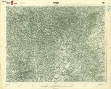 III. vojenské mapování 4461