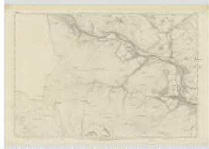 Selkirkshire, Sheet VII - OS 6 Inch map