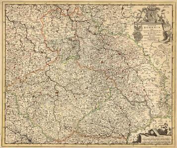 Regnum Bohemia, eique annexae provinciae, ut ducatus Silesia, Marchionatus Moravia, et Lusatia: quae sunt terrae Haereditariae imperatoris
