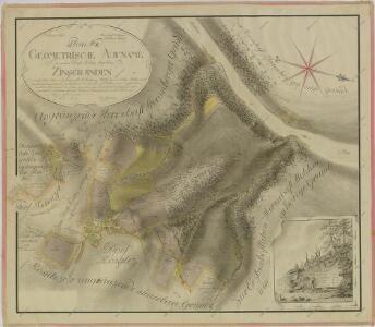 Geometrický plán lesů, činžovních, farních a služebních pozemků v okolí Kostelce 1