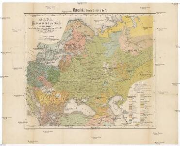 Mapa slovanského světa