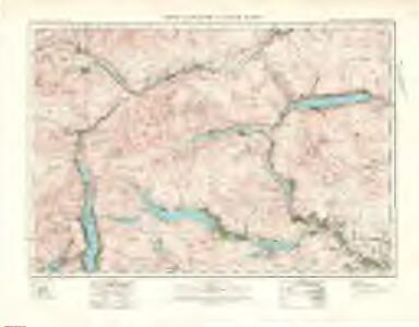 Loch Katrine  & Loch Earn (62) - OS One-Inch map
