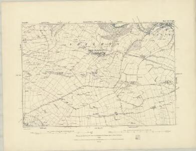 Derbyshire XXII.NE - OS Six-Inch Map